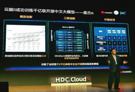 """首个两千亿参数中文预训练语言模型 """"盘古α"""" 全开源至启智社区"""